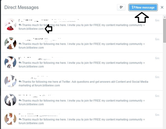 CrowdFire App DM Twitter followers to forum Part 2